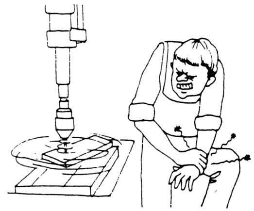 Maschinenschraubstock verwenden